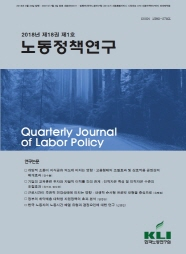 Quarterly Journal of Labor Policy (Vol. 18, Issue 1)